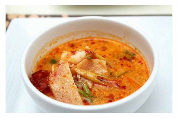 My favorite Tom Yum Prawn Soup