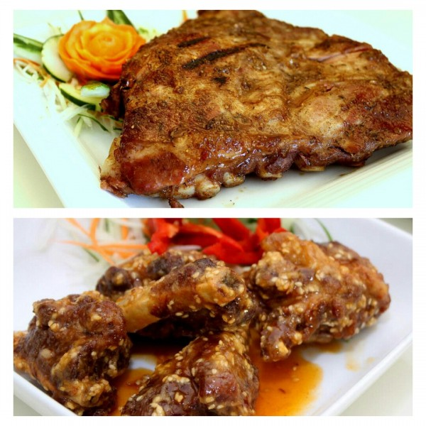 Siam Grilled Premium Ribs and Spicy Glazed Spare Ribs