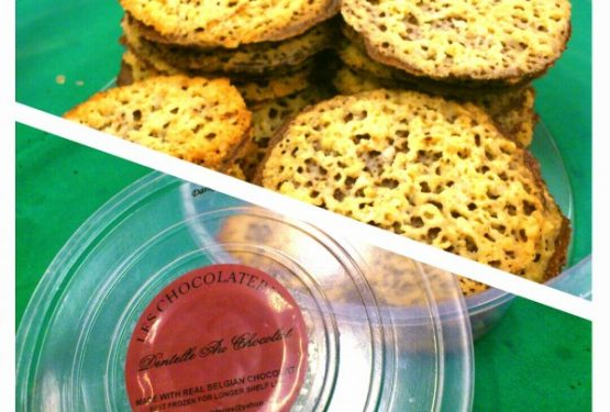 Don Merto's Les Chocolateries Belgian Lace Cookies