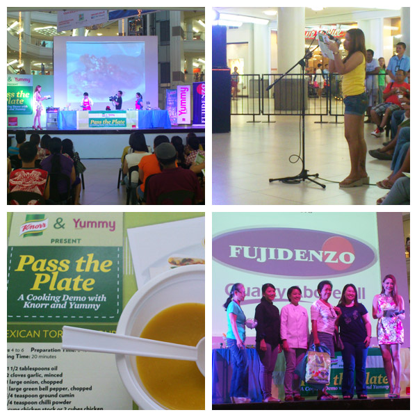 Pass the Plate: A Cooking Demo with Knorr and Yummy