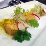 SEARED U.S. SCALLOPS