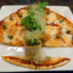 SALMON AND CAPERS PANIZZA