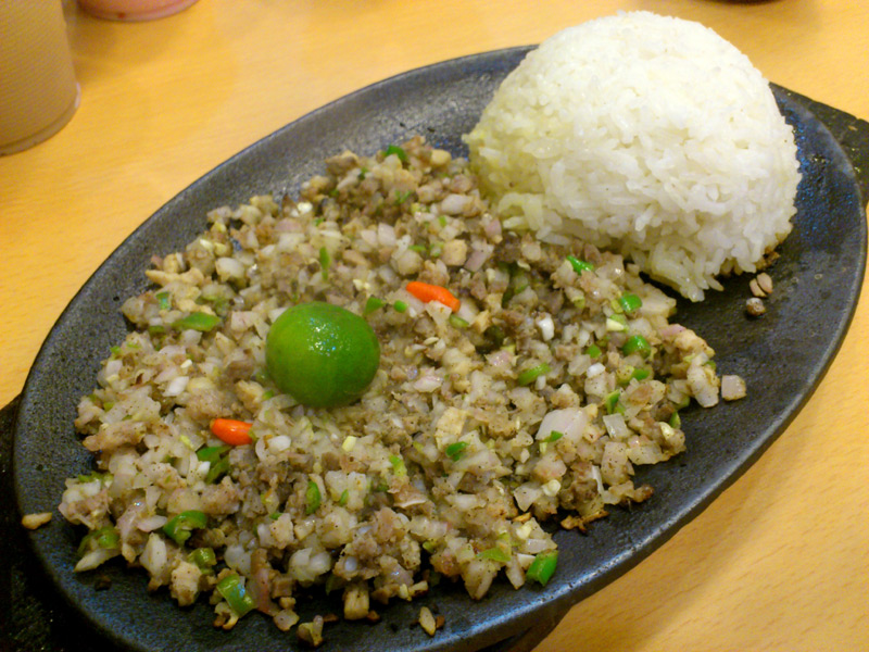 Sizzling Sisig (Php90)