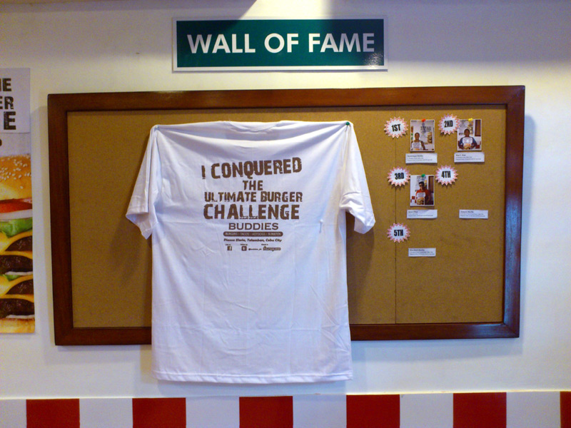 The Wall of Fame and Ultimate Shirt