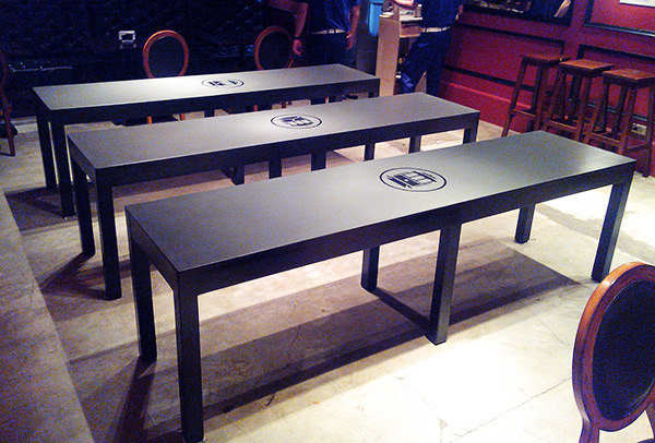 Cable Car Cebu - Beer Pong Tables