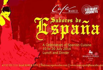 Marco Polo Plaza Cebu's Culinary Journey – Sabores de España
