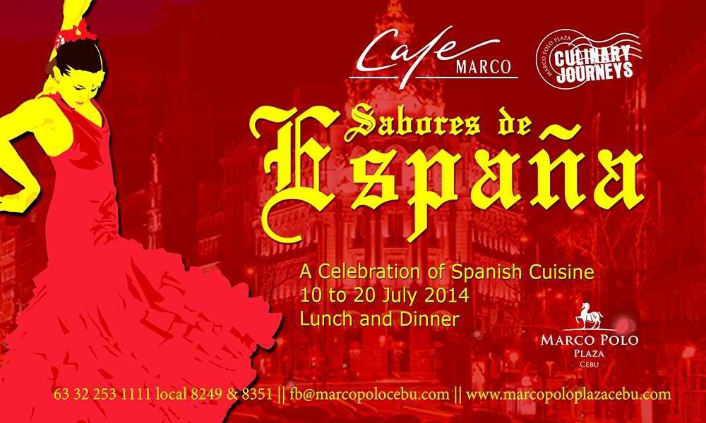 Marco Polo Plaza Cebu's Sabores de España