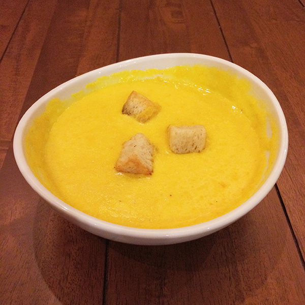 Squash  & Carrot Soup (Php140)