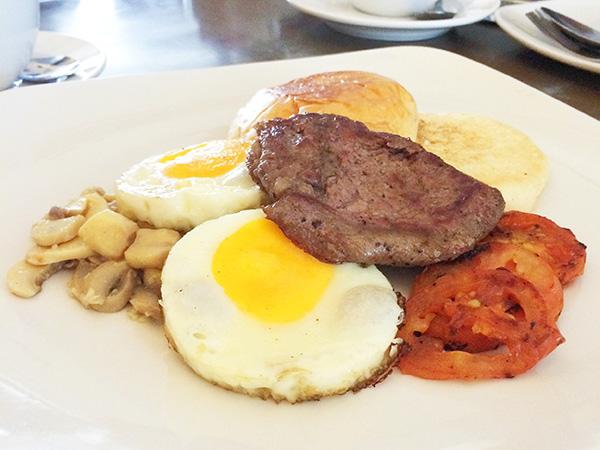 Breakfast Beef Medallion