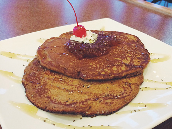 Wholewheat Pancake