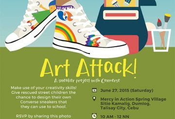Art Attack!: A Sneaker Outreach Project