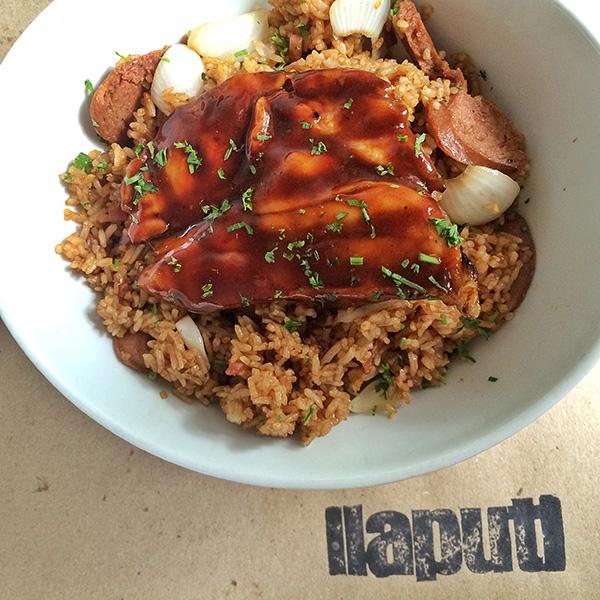 Grilled Chinese Chicken Jambalaya