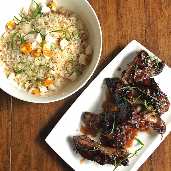 Southside Ribs & Salted Egg Fried Rice