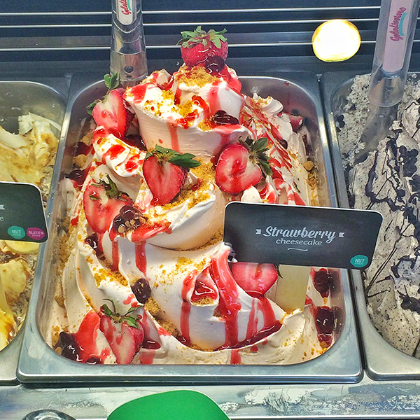 Strawberry Cheesecake Gelato