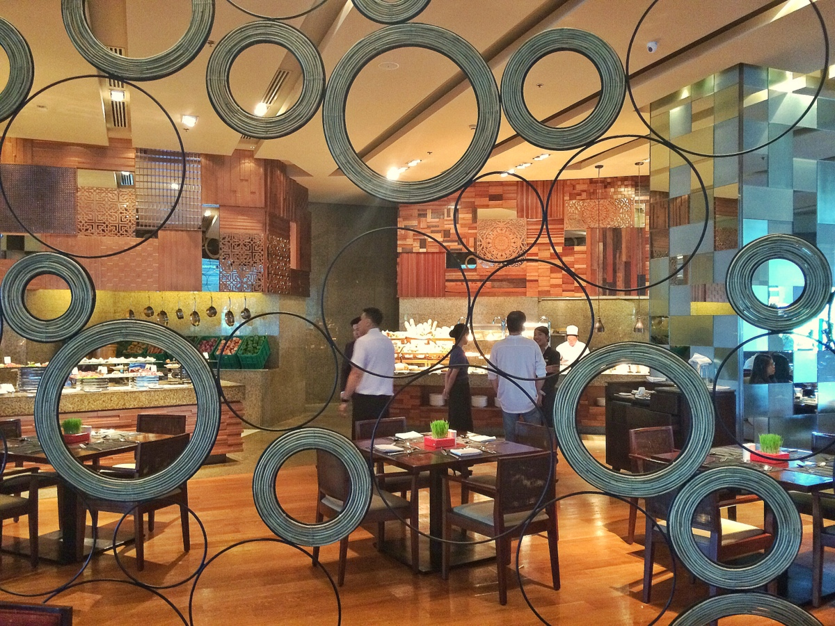 Feria, Radisson Blu Hotel Cebu's buffet restaurant