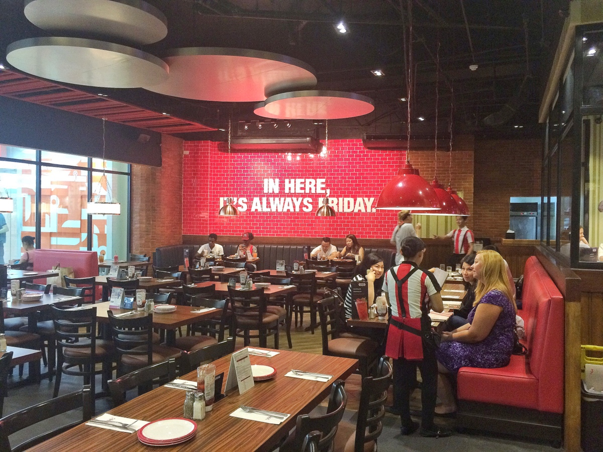 TGI Fridays, Ayala Center Cebu