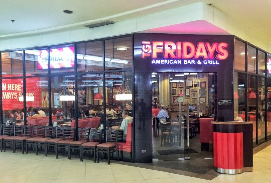TGI Fridays Cebu's New Look