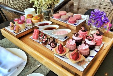 Pink Afternoon Tea at Shangri-La's Mactan Resort and Spa