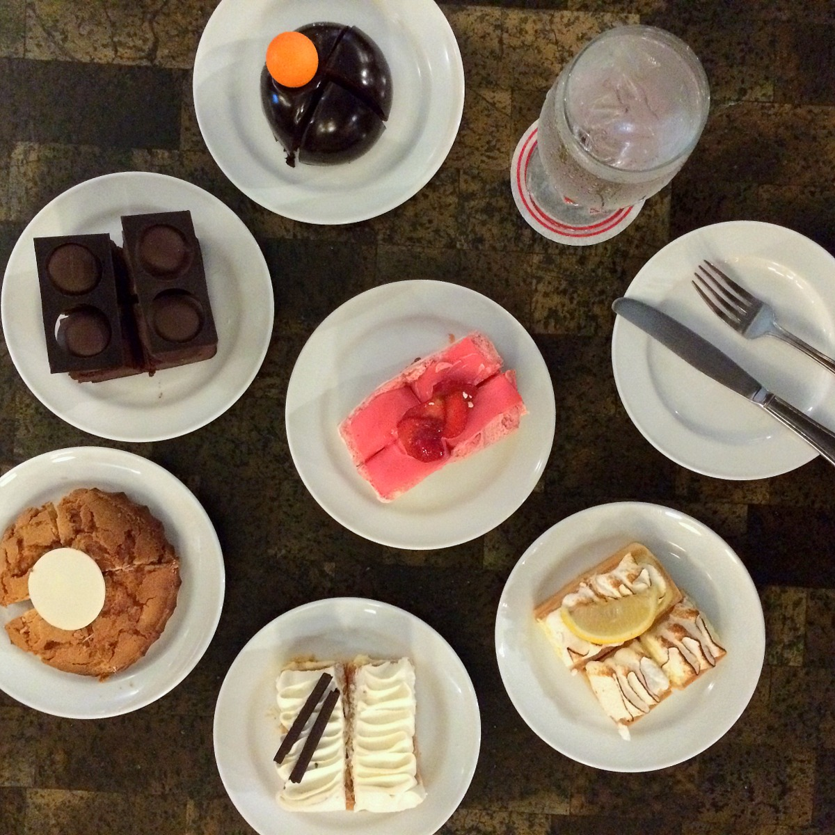 New pastries and desserts available at Madeleine