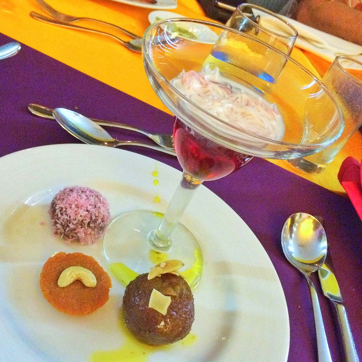 Khana: Gulab Jamum, Falooda and other Indian sweets were also added at the dessert section.