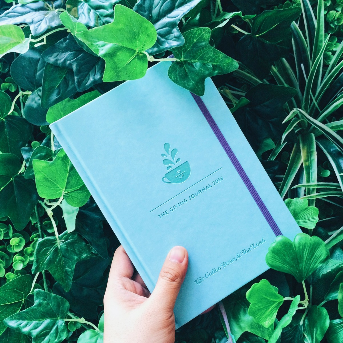 The Coffee Bean & Tea Leaf's Giving Journal 2016