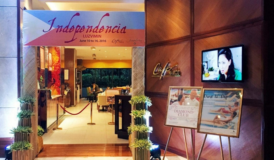 Cafe Marco's Culinary Journeys: Independencia LuzViMin