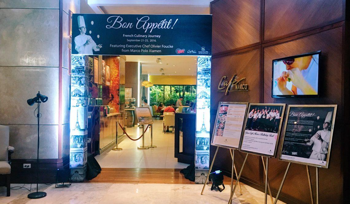 Bon Appetit! A French Culinary Journey at Marco Polo Plaza Cebu