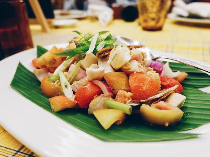 Tawilis Salad
