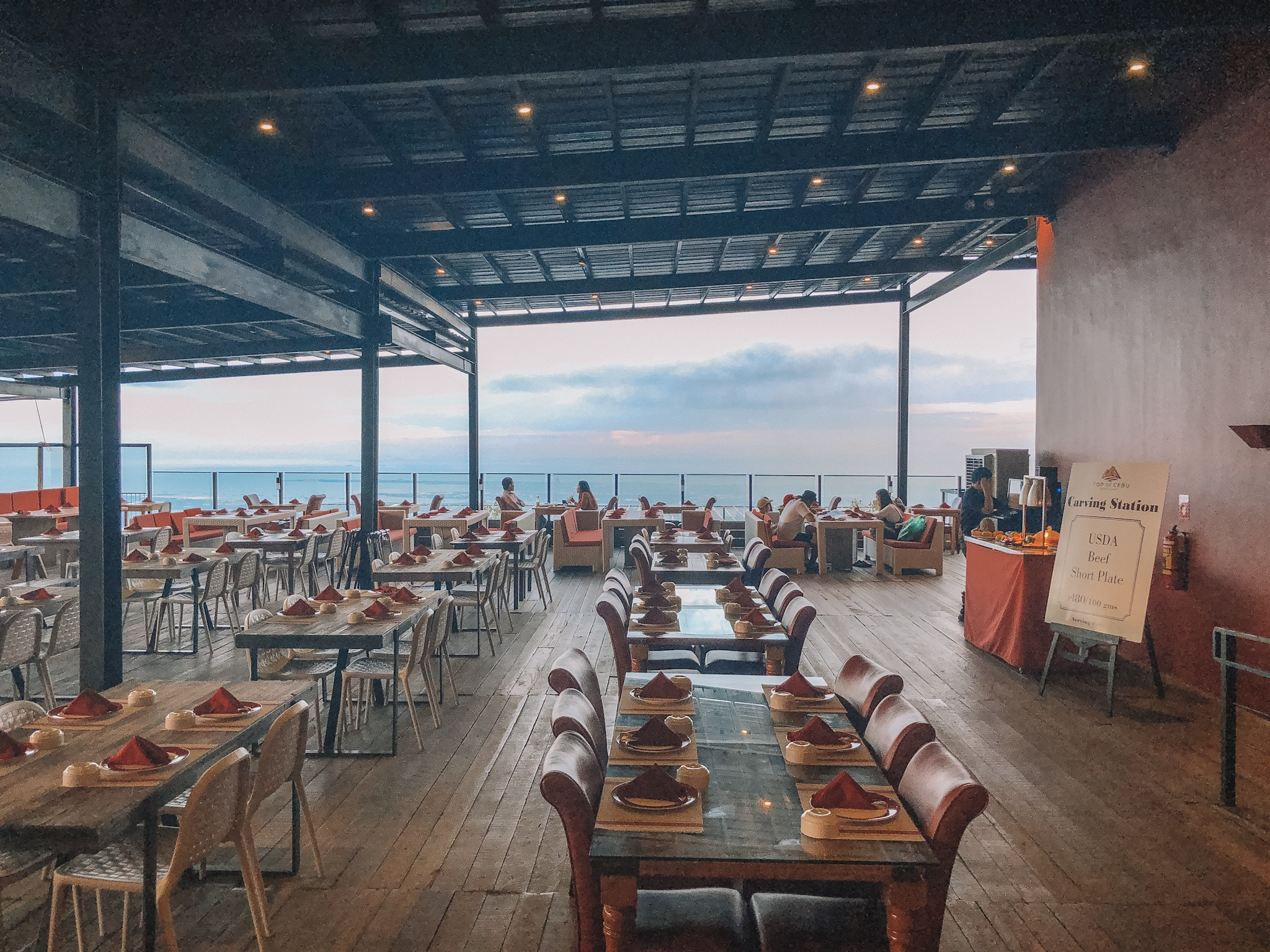 Dinning with a View at Top of Cebu Restaurant | Lami Kaayo!